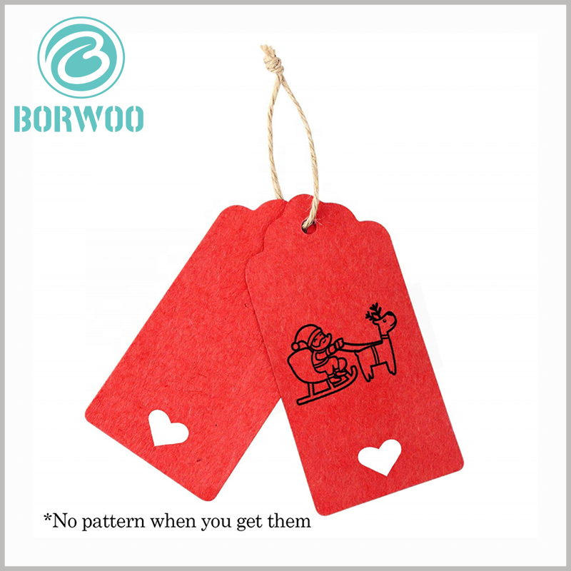 recycled paper hang tags has ropes