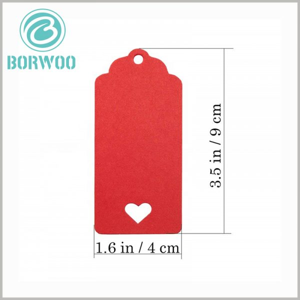 recycled paper hang tags with ropes wholesale