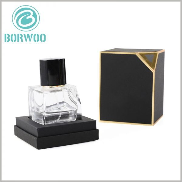 small perfume gift boxes wholesale. Custom gift boxes are used for perfume packaging. Everything can be customized, including the thickness and shape of the EVA inside the packaging.
