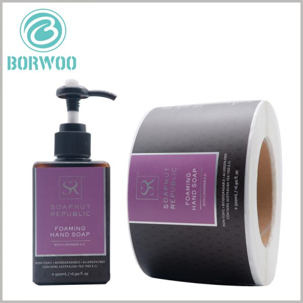 waterproof labels for shampoo bottles.Customized shampoo labels have unique advantages and can increase the attractiveness of shampoo products and brands.