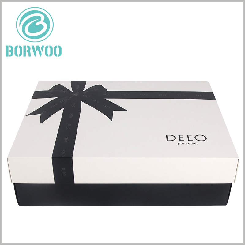 white large gift boxes with lids. The size of customized large cardboard boxes is determined according to the product, so that the packaging and the product are completely matched.