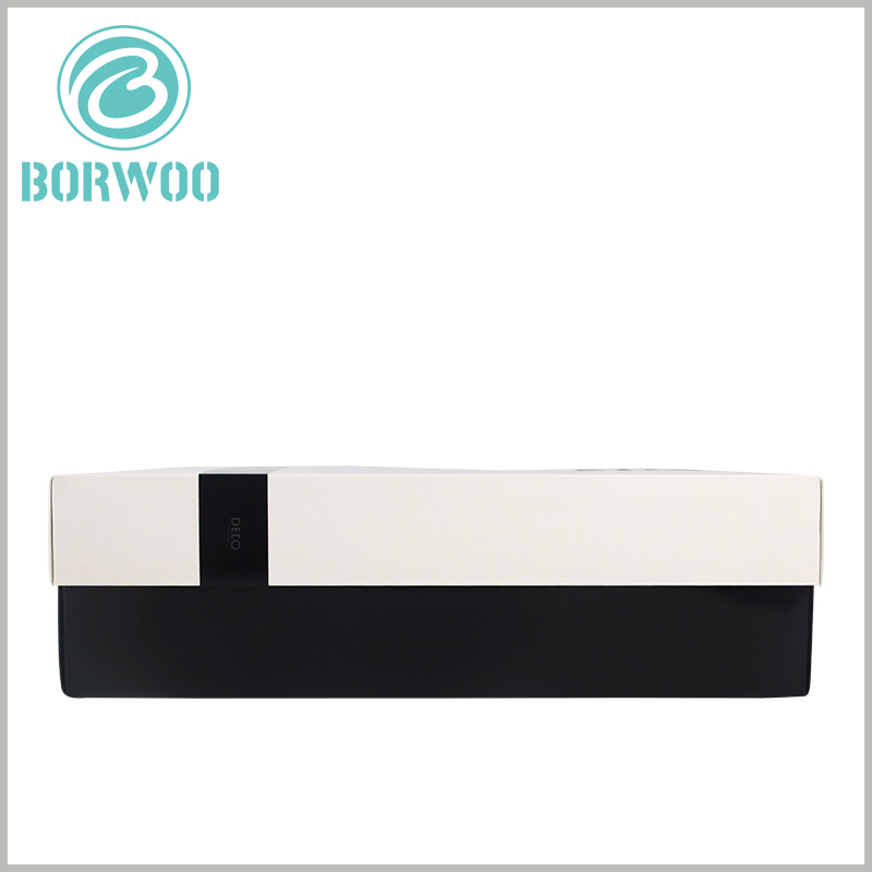 white large rectangle gift boxes with lids wholesale.Customized packaging uses 1000gsm grayboard paper and 128gsm coated paper as the main raw materials.