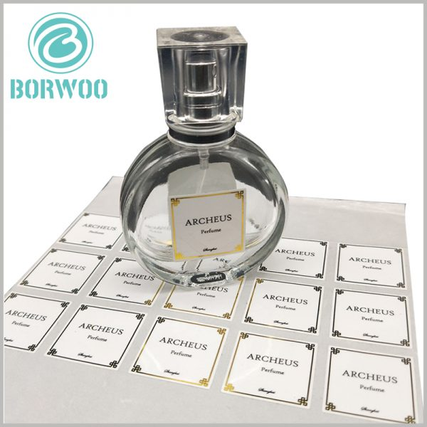 wholesale printed paper labels for perfume bottles.Customized labels have a unique charm and can be targeted to promote products and brands.
